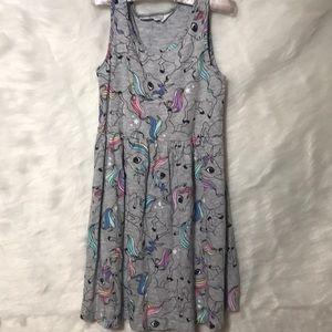 Child's H&M Unicorn Jersey Dress